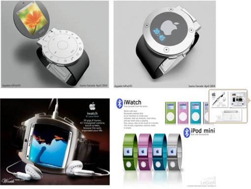 Look, a watch with no hands. So Apple.